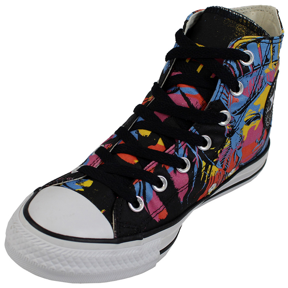 225d9b9a6c5 Converse Mens All Star Andy Warhol Hi Top Shoe