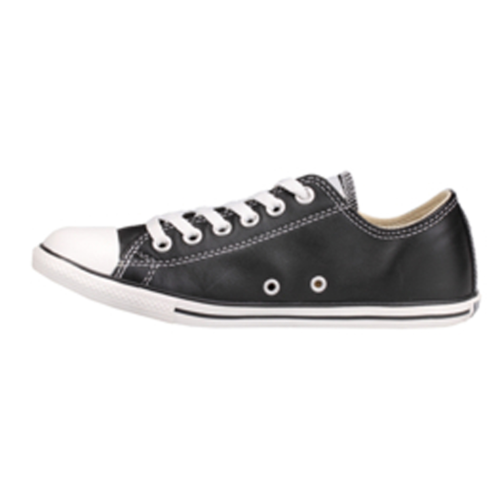 733bb191ba51 Converse Chuck Taylor 113937 Leather Black Slim low top.