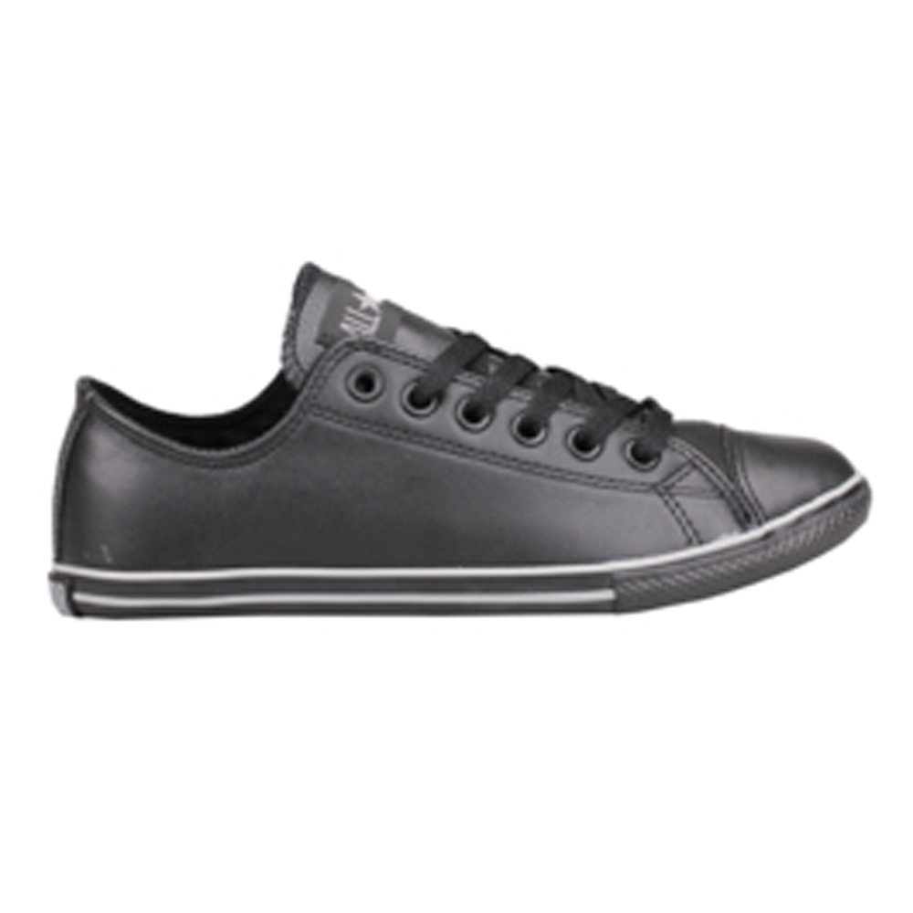 Converse Slim Low Top Shoe Leather
