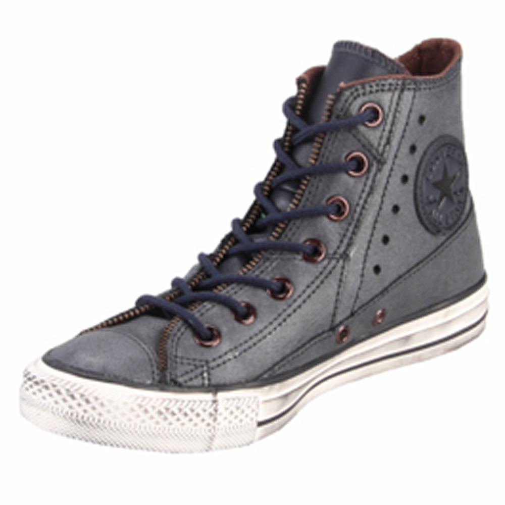 Converse Chuck Taylor 132414C Leather Motorcycle Jacket Wheat Hi Top ... f1f8dea15