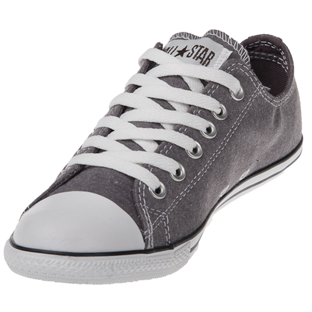 Converse Chuck Taylor 121964 Slim Navy Low Top Shoes.