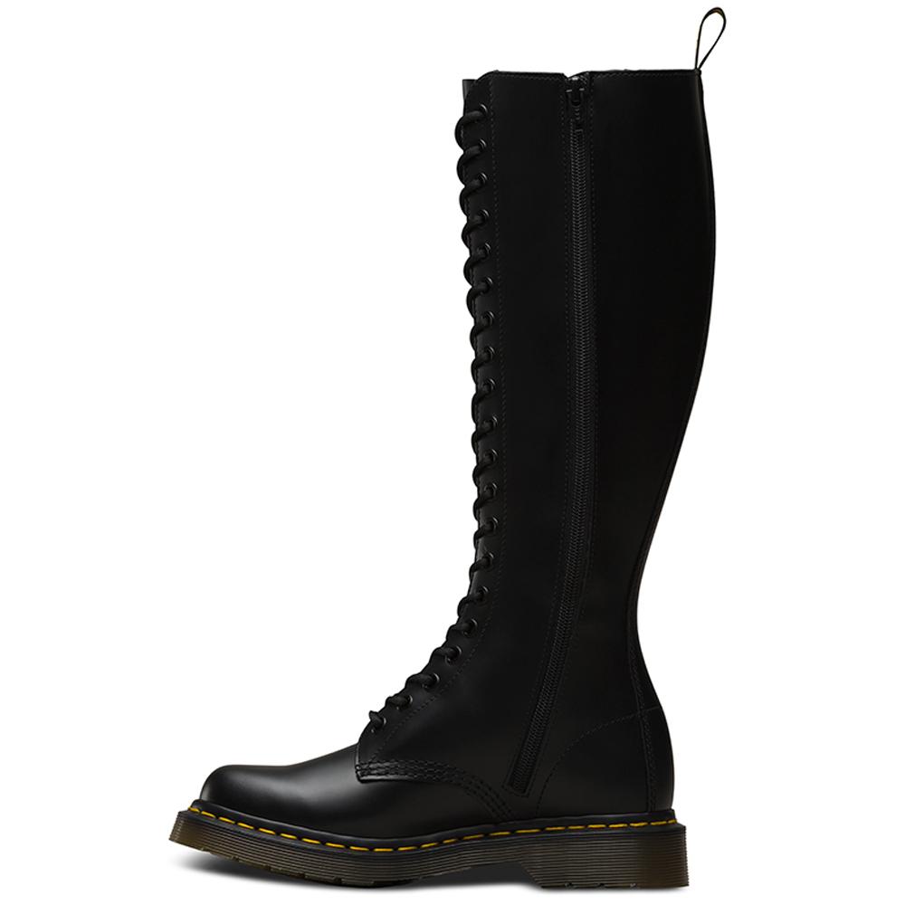 6e28d949ec7 Buy Cheap Dr.Martens 20 Eye Zip Boot R12270003 Black Smooth ...