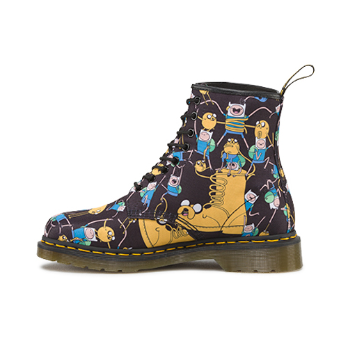 new concept 100% genuine catch Dr. Martens Adventure Time Finn & Jake Boot