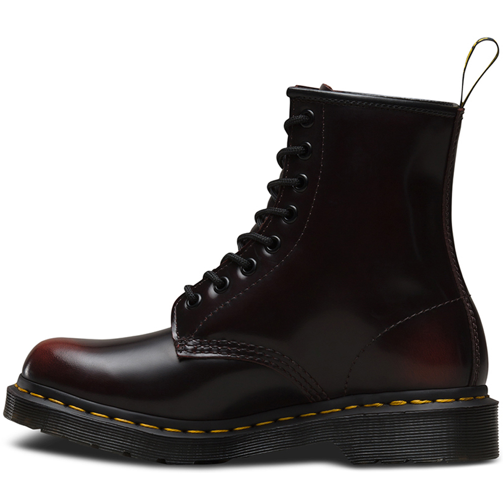 0d7e7147895b9 Dr. Martens R13701602 Cherry Red Arcadia 8 Eye Boot   Zelenshoes.com