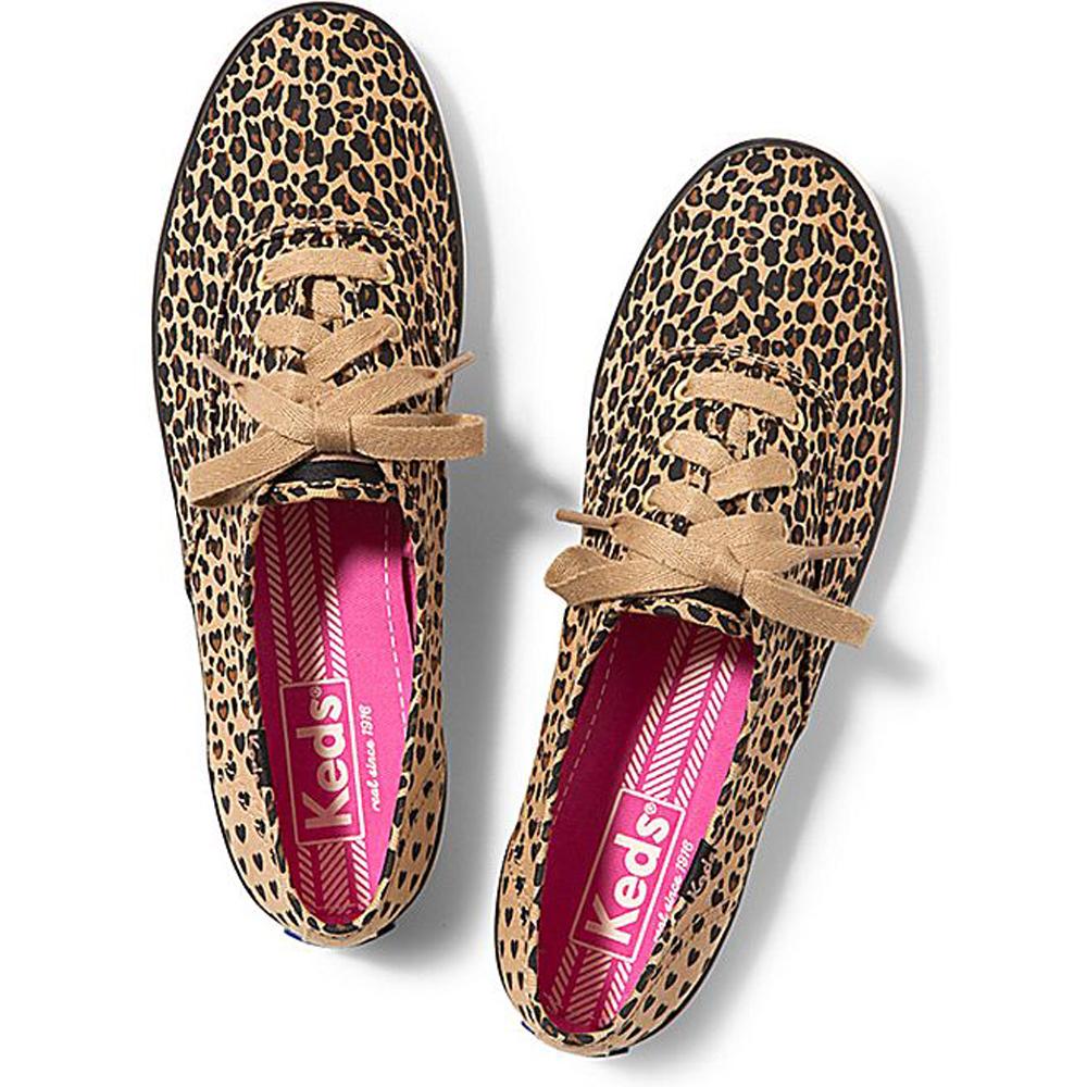 971a51411fe Keds Champion Printed Leopard And Heart Shape Shoe