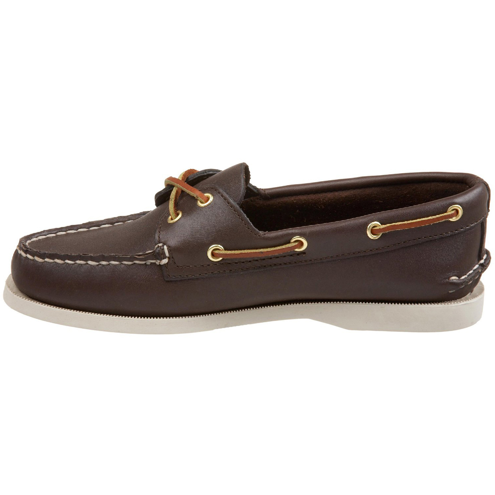 3dcd1a4e1e4 Sperry Top Sider Womens Authentic Original 2-Eye Boat Leather Shoe ...