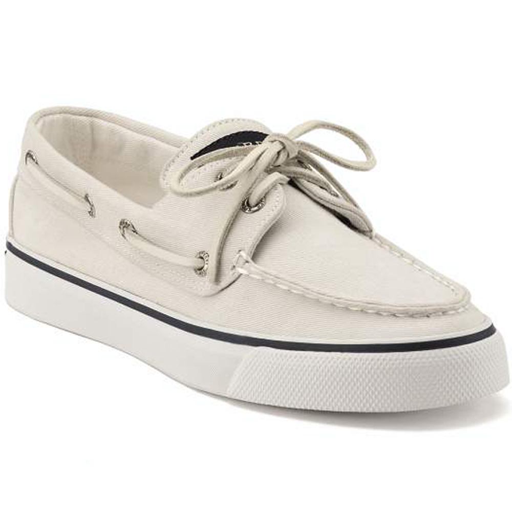 Sperry Top Sider Womens Bahama White
