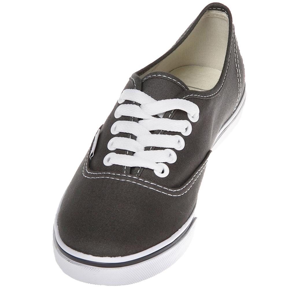 2295c8b2a5 Vans VN-0GYQ6BT Authentic Lo Pro Black True White Shoes.