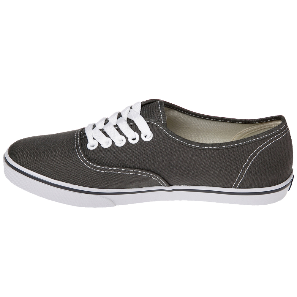 acac8f2a8cd Vans VN-0GYQ6BT Authentic Lo Pro Black True White Shoes.