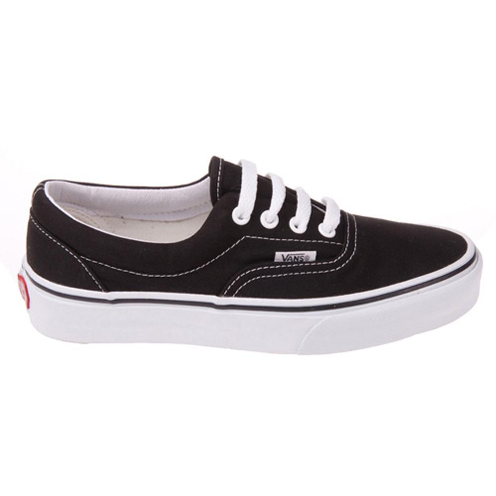 Vans VN-0EWZBLK Era Black White Shoes  d0d176b2c