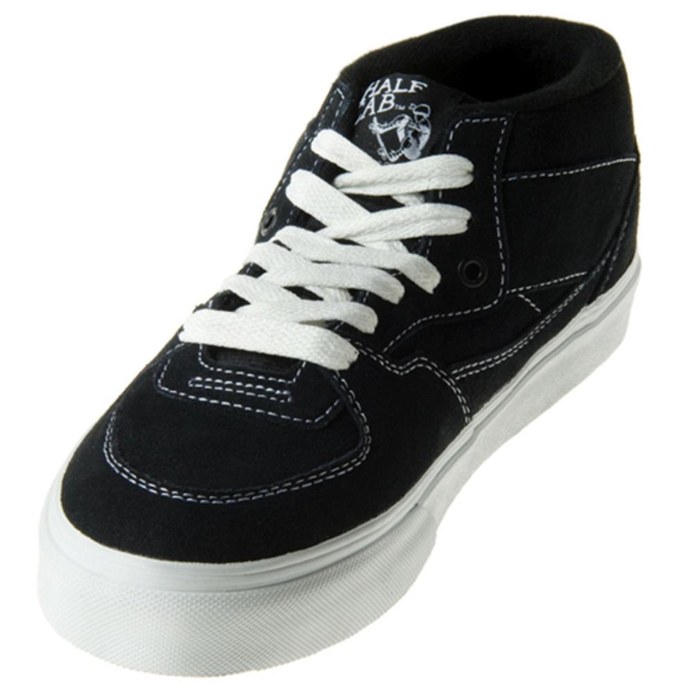 8d80435d704f73 Vans VN-0DZ3NVY Half Cab Navy Shoes