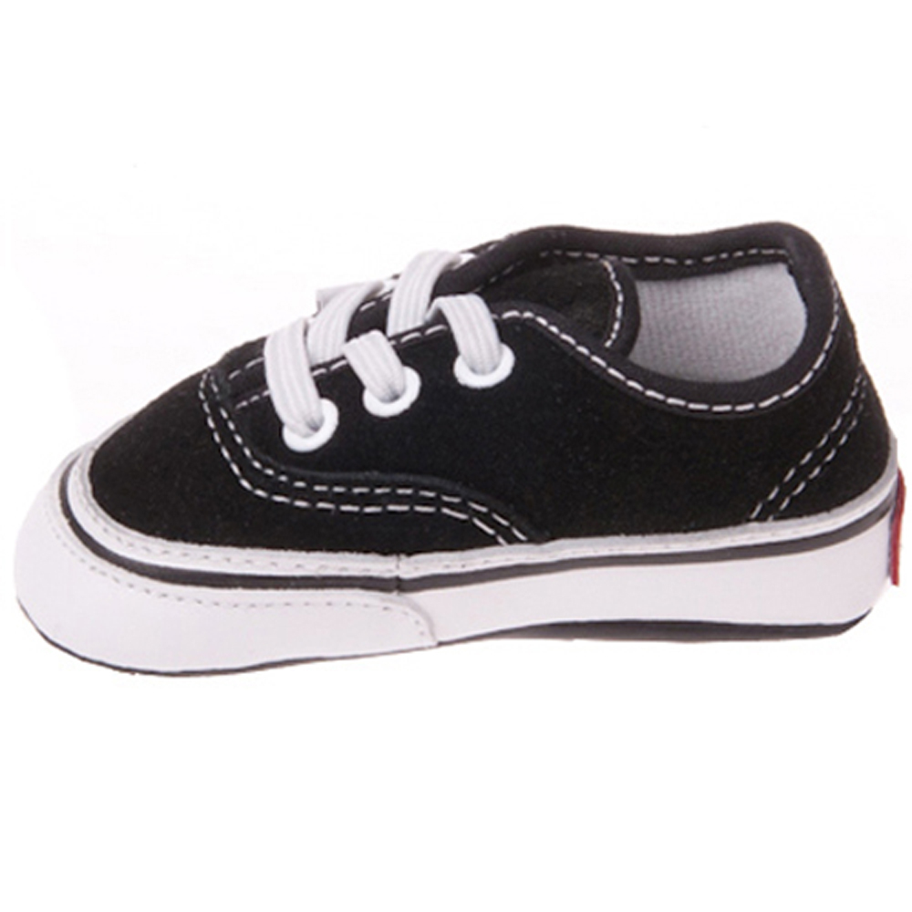 2550f01511a7 Vans VN-0HKN6BT Infant Authentic Black True White Shoes