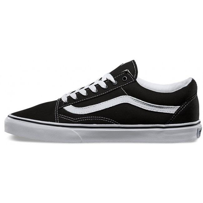 vans canvas old skool black