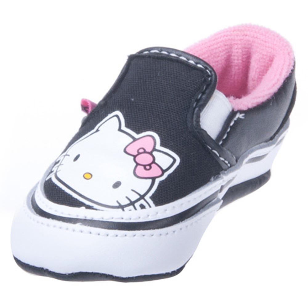 Vans Vn 0kwkl8t Infant Classic Slip On Hello Kitty Pink True White
