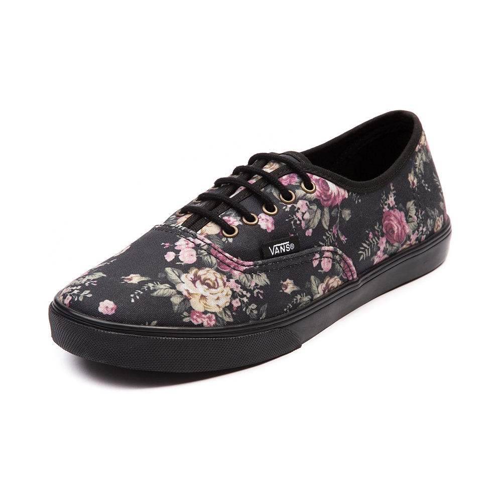 a7fdb4b7322 Vans VN-0QES65N Adult Lo Pro Authentic Floral Blue.