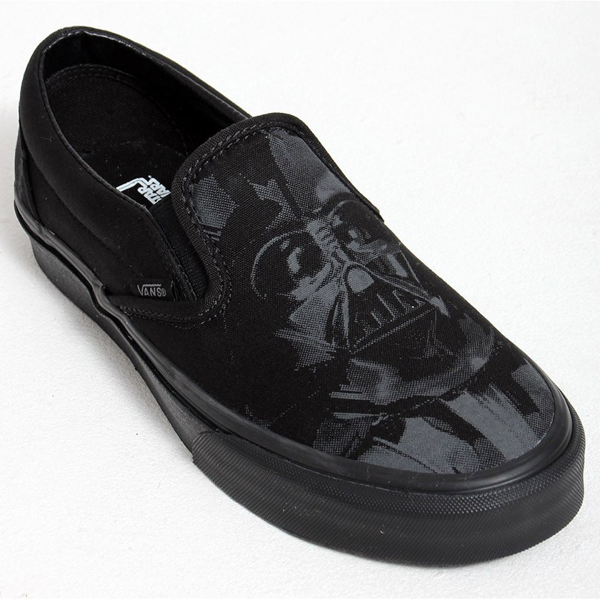 vans slip on star wars