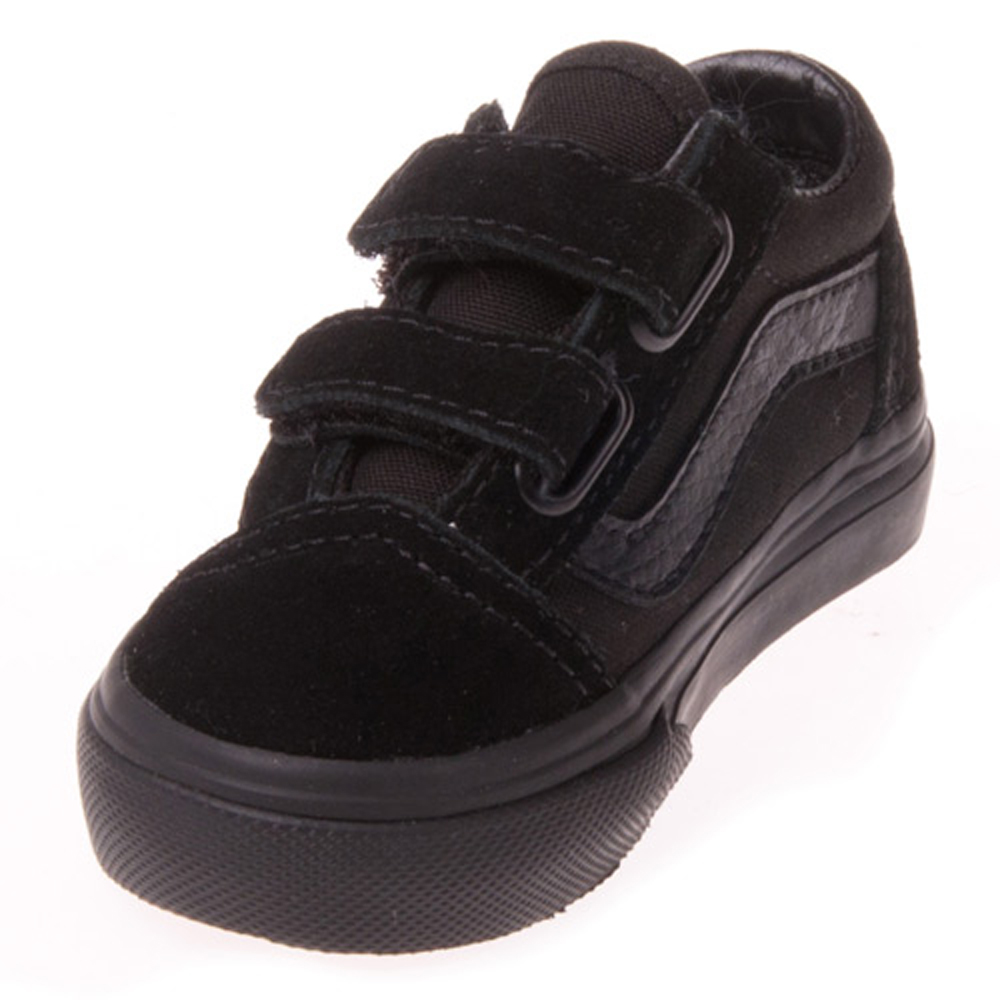 Buy all black toddler vans a18df28ad6e9