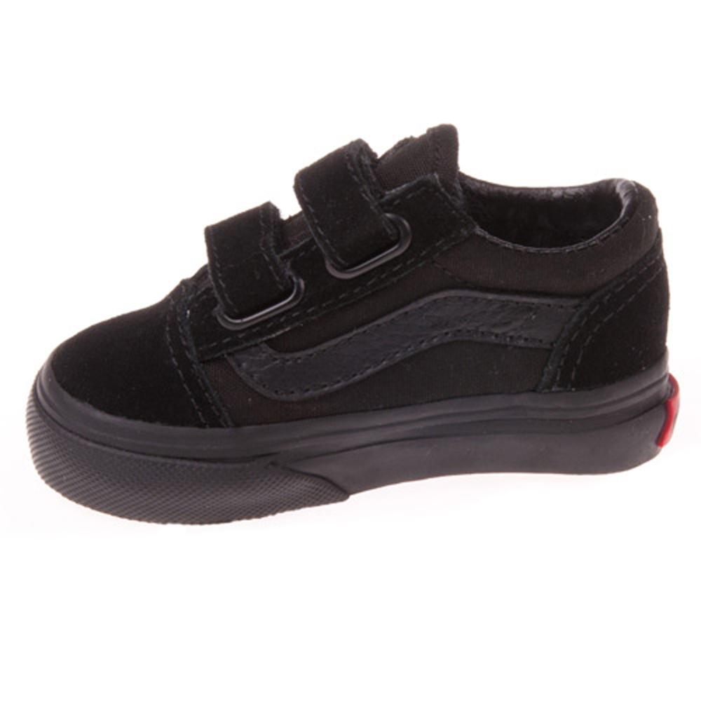 Vans VN-0D3Y0I4 Toddler Old Skool Black Black Gum Shoes. 302f919ac
