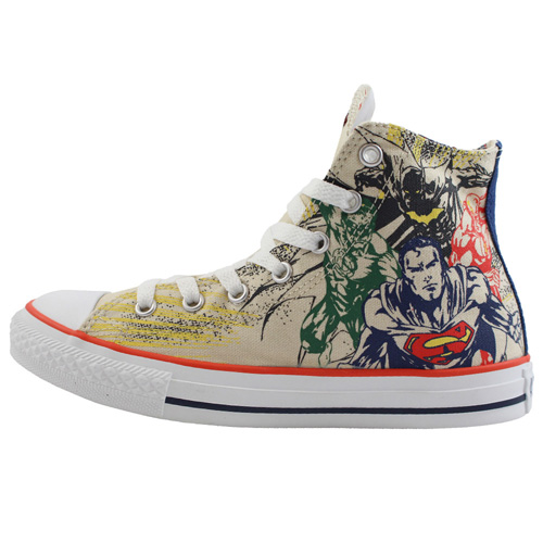 Converse Chuck Taylor Youth Justice League Hi Top Shoe