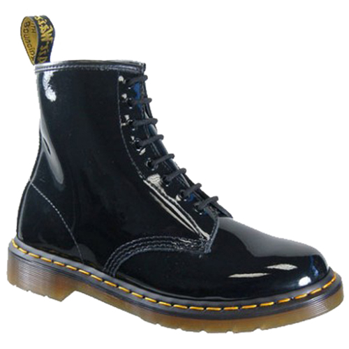 Dr. Martens 8 Eye Boot Patent Lamper Boot