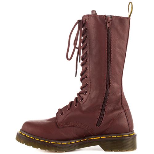 Dr. Martens 14 Eyelet Zip Up Virginia Boot