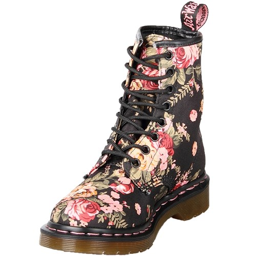 Dr. Martens 8-Eye Victorian Flowers Boot