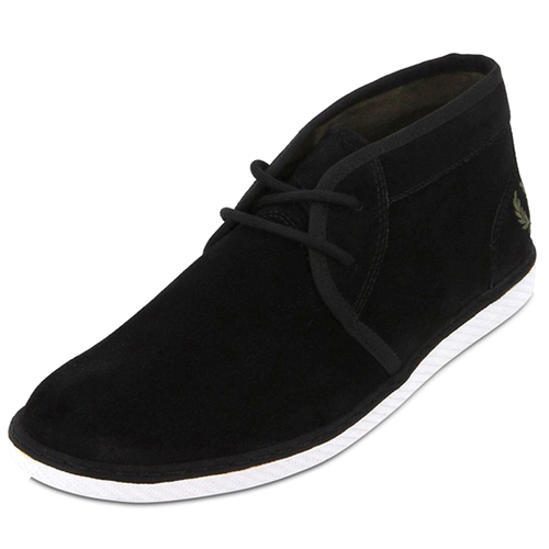 Fred Perry Claxton Mid Suede Shoe