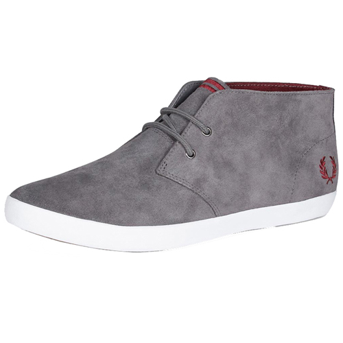 Fred Perry Byron Mid Suede Shoe