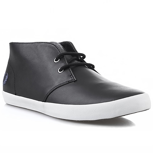 Fred Perry Byron Mid Leather Shoe