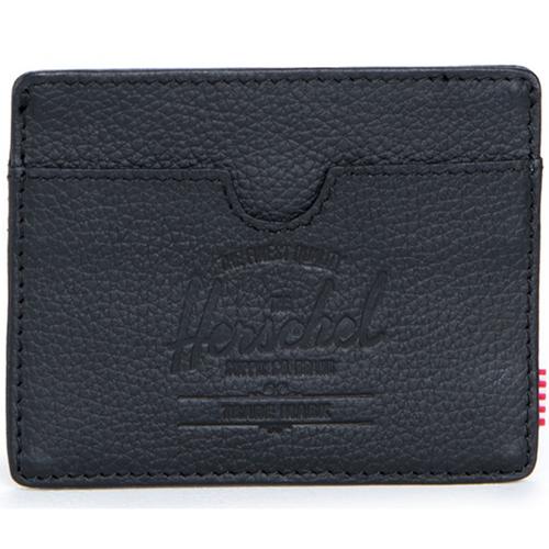 Herschel Pebbled Leather Charlie Wallet