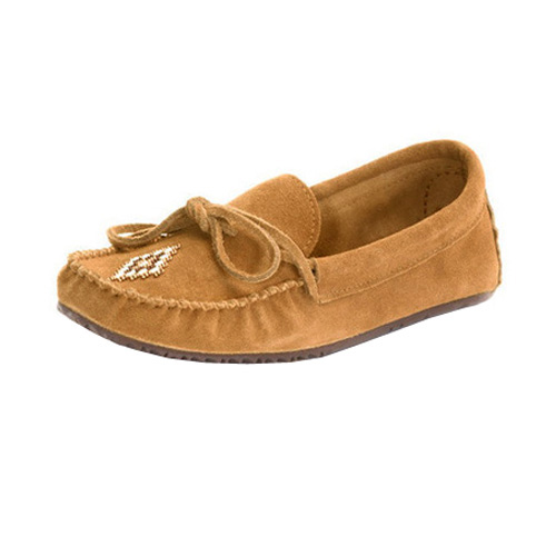 Canoe Suede Unlined Moccasin
