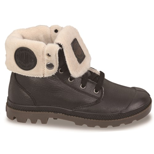 Palladium Baggy Leather Wool Lined Boot