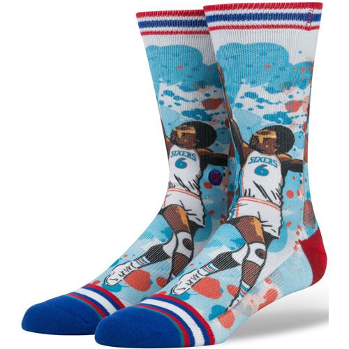 Stance Erving NBA Legends Socks