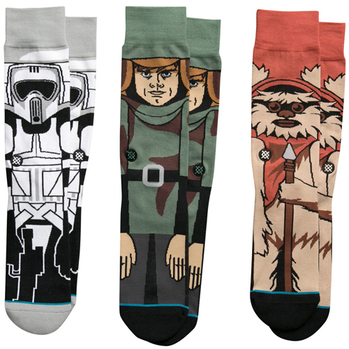 Stance Star Wars Return Of The Jedi Socks