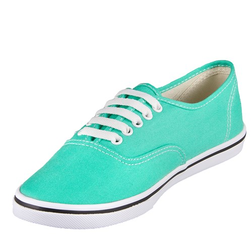 Vans U Authentic Low Top Mint Leaf Shoe