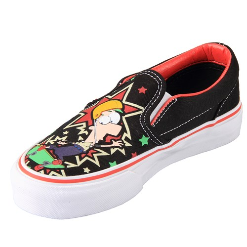 Vans K Classic Slip-On Phineas & Ferb Shoe