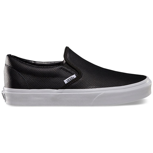 Vans Classic Slip-On Perf Leather Shoe