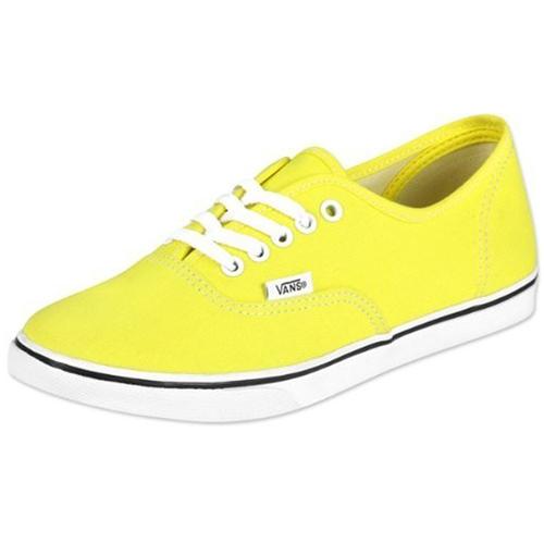 Vans Lo Pro Yellow Shoe