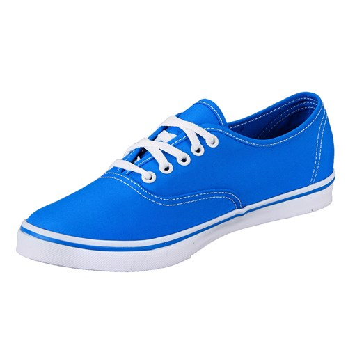 Vans Authentic Lo Pro Neon Blue Shoe