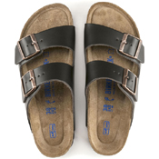 Birkenstock Arizona Smooth Leather Soft Footbed
