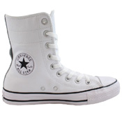 Converse Womens Chuck Taylor All Star Hi-Rise Leather Boot