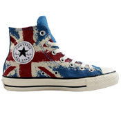 Converse Mens Chuck Taylor All Star UK Flag Print Shoe