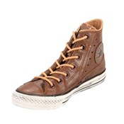Converse Chuck Taylor Leather Motorcycle Jacket Hi Top Shoe