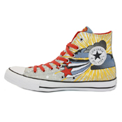 Converse Chuck Taylor Youth Superman Hi Top Shoe
