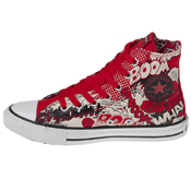 Converse Chuck Taylor Youth Superman Print Shoe