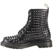 Dr. Martens 8 Eyelet Spike Smooth Boot