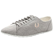 Fred Perry Alley Printed Canvas Shoe