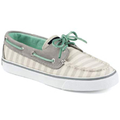 Sperry Top Sider Womens Bahama 2-Eye Breton Stripe Shoe