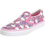 Vans Womens Classic Slip On Hello Kitty